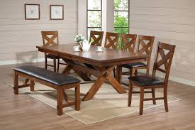 Country Dining Room Tables by Amazon Com Acme 70000 Apollo Dining Table Distressed Oak Finish