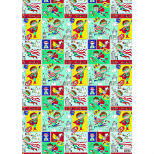 comic wrapping paper party camel gift wrap comic