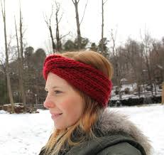 knitted headbands knitted turban headband and whimsy