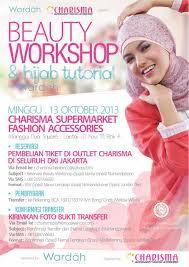 Wardah Okt wardah cosmetics on workshop tutorial w