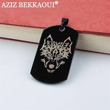 Personalized Dog Tag Necklace Popular Personalized Dog Tag Necklaces Buy Cheap Personalized Dog