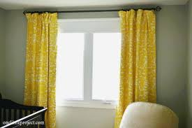 lovely bright yellow curtains tsumi interior design