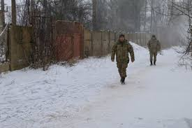 on the front lines of the war in ukraine soldiers dig in winter conditions in eastern ukraine are brutal temperatures dipped 26 degrees below zero celsius