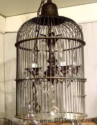 Birdcage Chandeliers Collection In Diy Birdcage Chandelier 1000 Ideas About Birdcage
