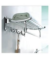 Bath Accessories Online Buy Handy Bathroom Accessories Folding Towel Rack Stainless Steel
