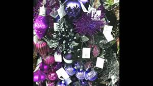 Red Gold And Purple Christmas Tree - christmas bluend purple christmas decorations outdoor