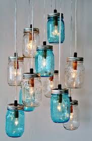 How To Make Mason Jar Chandelier Upcycled Mason Jars Into Beautiful Chandeliers Recycled Things