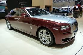 roll royce chrome rolls royce ghost facelift comes to geneva motor show