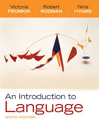 an introduction to language 9th edition 9781428263925 cengage