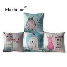 popular cushions home decor owl buy cheap cushions home decor owl
