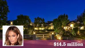 Home Jennifer Lopez by Jennifer Lopez Glams Up Hidden Hills Home To Put It On The Market