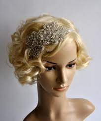 how to make a 1920s hairpiece sale rhinestone flapper gatsby headband wedding headband crystal