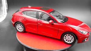 mazda car dealership mazda 3 axela scale 1 18 diecast car hatchback by original dealer