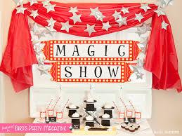 magic trick collection diy printable magician birthday