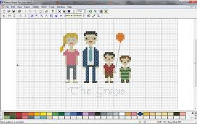 cross stitch pattern design software ellementary home cross stitch family portrait