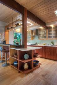 mid century modern walnut kitchen cabinets mid century modern kitchen an architect s contemporary
