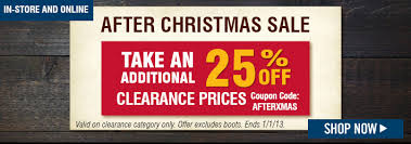 Boot Barn Coupons In Store Bootbarn Com After Christmas Sale 25 Off Clearance Prices