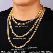 curb chain necklace fashion images Buy men curb chain necklace hiphop style yellow jpg