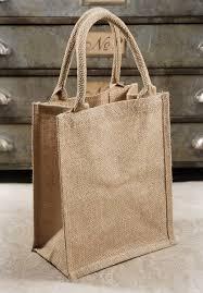 burlap gift bags burlap tote favor bags with handles 11 x 9