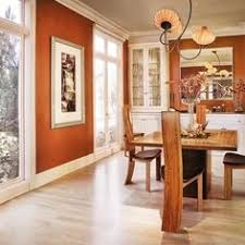 modern dining room decorating ideas orange paint colors and