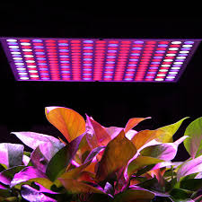 45w led hydroponic plant grow light full spectrum panel veg flower