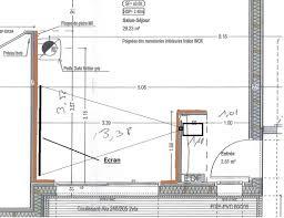 distance ecran videoprojecteur canapé modeste projet hc dans mon salon 30042935 sur le forum
