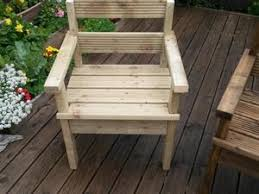 Handmade Wooden Outdoor Furniture by Wooden Garden Chairs Handmade In Littlehampton Friday Ad