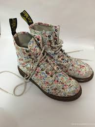 doc martens womens boots canada boots outlet white vintage flowers dr doc martens