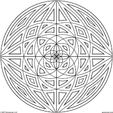 detailed coloring pages for adults geometrip com free