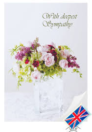 sympathy flowers sympathy card sympathy flowers cardletters