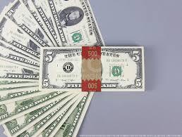 series 1980s 5 full print prop money stack