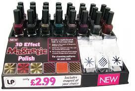 lp magnetic nail polish display package