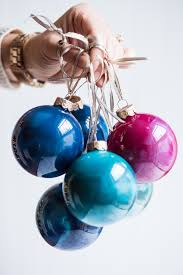 diy swirled melted crayon ornaments the sweetest occasion