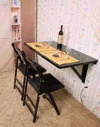 table murale cuisine rabattable table de cuisine murale sobuy fwt sch rabattable en bois grande mod