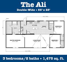 single wide mobile home floor plans 2 bedroom double wide floor plans you got it homes
