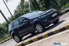blue land rover discovery land rover discovery sport ingenium review test drive motorbeam