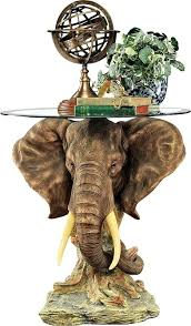 elephant end tables ceramic elephant end table lord earl trophy elephant end table elephant