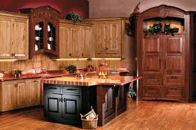 Kitchen Cabinets And Bathroom Vanities Showroom Open Late - Rustic cherry kitchen cabinets