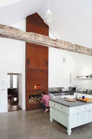 fireplace idea corner small kitchen with classical fireplace idea kitchen with