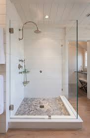 Shower Ideas For A Small Bathroom Best 25 Pebble Shower Floor Ideas On Pinterest Shower River