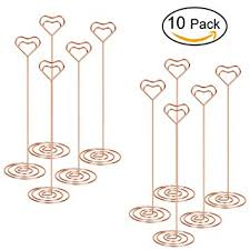 table number card holders amazon com table photo holder volla table number stand place card