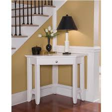 Corner Entryway Table Utilize The Space Of The Room With Corner Table Blogalways