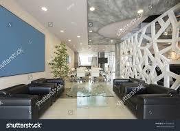 modern luxury hotel lobby interior stock photo 416563567