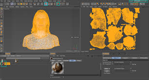 uv layout video tutorial how to remap the uv textures of a 3d scan in bodypaint 3d cinema