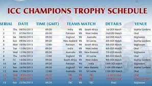 bpl 2017 schedule time table icc chions trophy 2017 schedule groups time table download