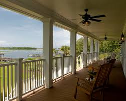 Trex Lighting Trex Railing Porch Traditional With Ceiling Fan Deck Handrail