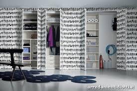 carta da parati su armadio casa moderna roma italy rivestire armadio