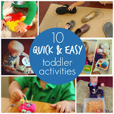 toddler approved 10 easy toddler activities