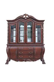 amazon com acme 60270 quinlan hutch and buffet china cabinet