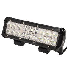 Led Vehicle Light Bar by Amazon Com Kawell Led Light Bar 9 Inch 54w 6000k Spot Flood Combo